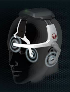 Force trainer headset