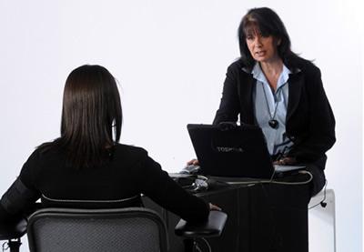 Интервью с использованием детектора лжи