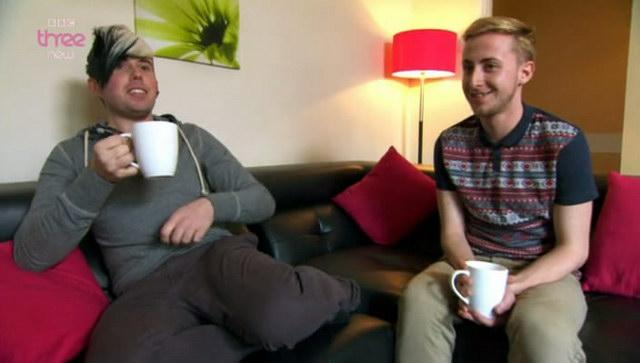 Крис со своим другом Жаком