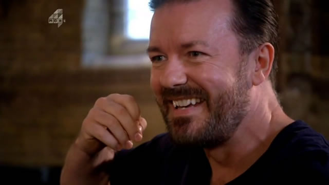 Ricky Gervais в документальном фильме Sex, Death and the Meaning of Life