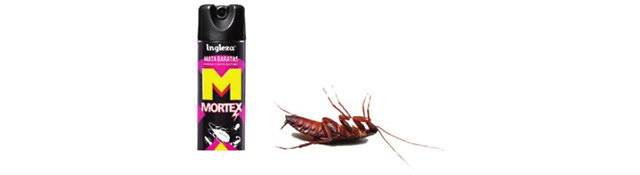 Измененная реклама средства против тараканов