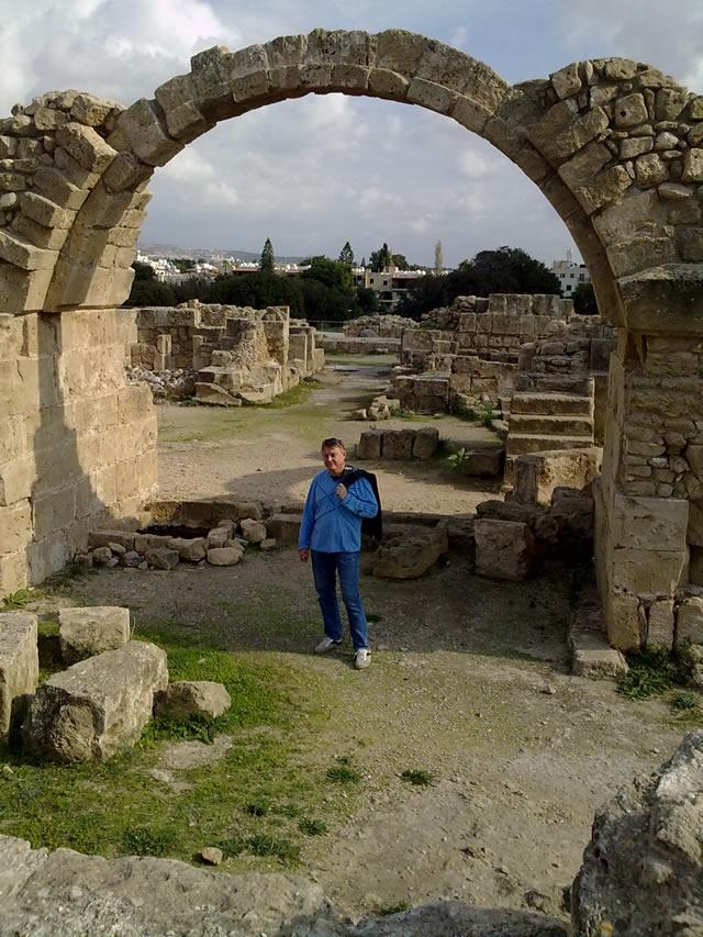 Саранта Колонес, Пафос