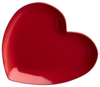 блюдце в форме сердца