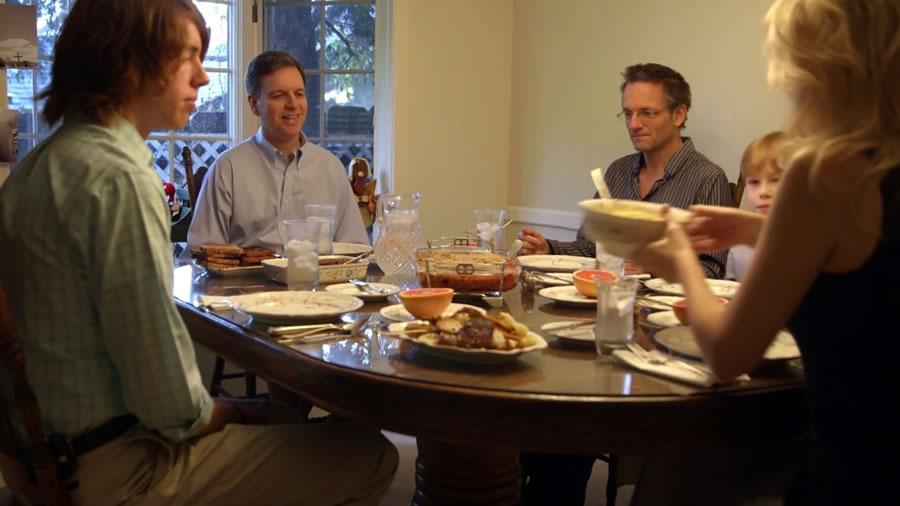 ужин в семье адвентистов
