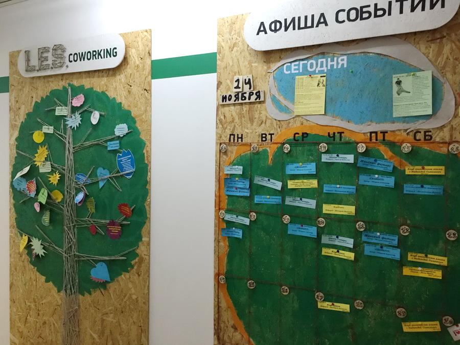 коворкинг LES в Алматы