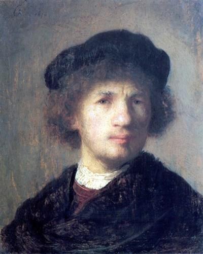 Рембрандт, автопортрет