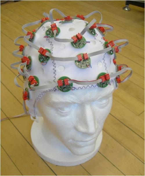 шлем для поглаживания головы