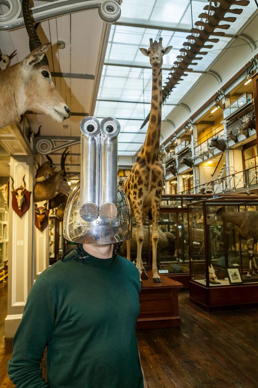 шлем жирафа