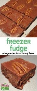 freezer fudge recipe