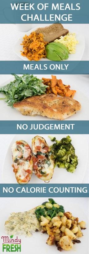 week of meals challenge