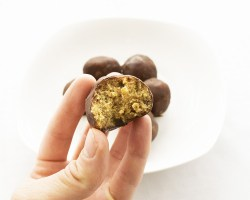 healthy peanut butter balls