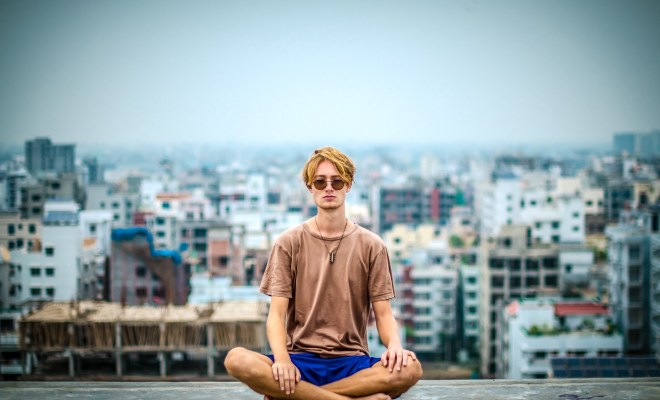 How long do you practise meditation each day? 8