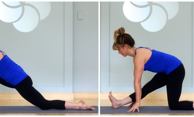 What are some of the easy Yoga exercises one can do to improve health? 1