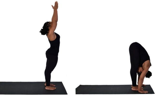 Asanas of yoga - Therapeutic focus - Obesity - Salamba Shirshasana 5