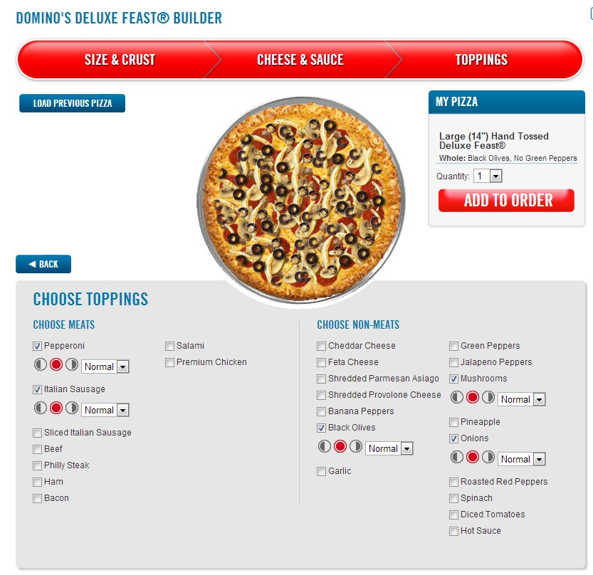 comparison of easyjet and domino pizza Recently, in an effort to once and for all determine the best pizza you can get across the united states, i spent an afternoon sampling some of the largest chain pizza shops in america: dominos.