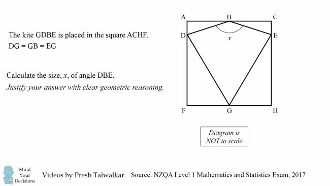 I Was Wrong The Kite Problem Correct Proof Mind Your Decisions
