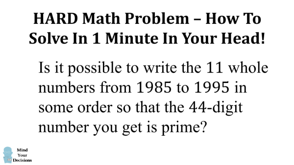 maths problems solved