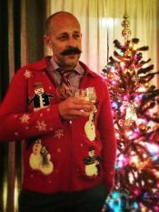 The Mind Your Dirt Christmas sweater