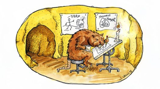 Gopher Sketching