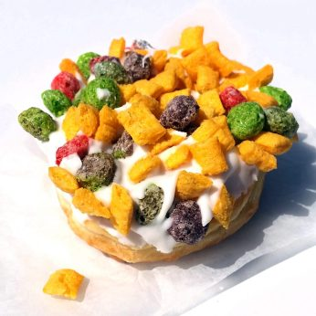 Voodoo Donut...with cereal.