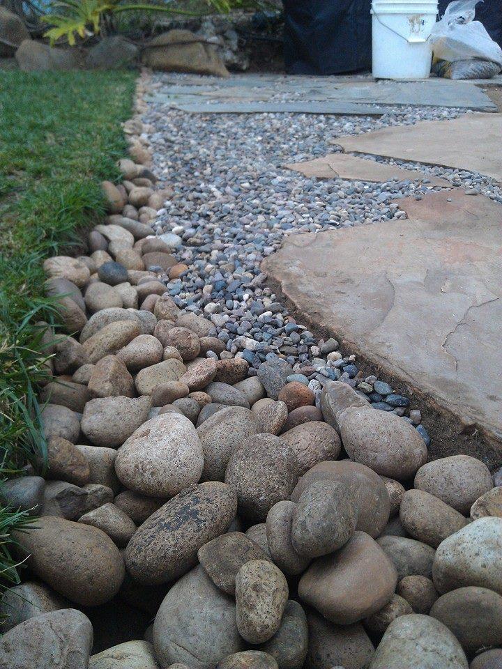 Building a Flagstone Patio | Mind Your Dirt on Flagstone Backyard Patio id=50160