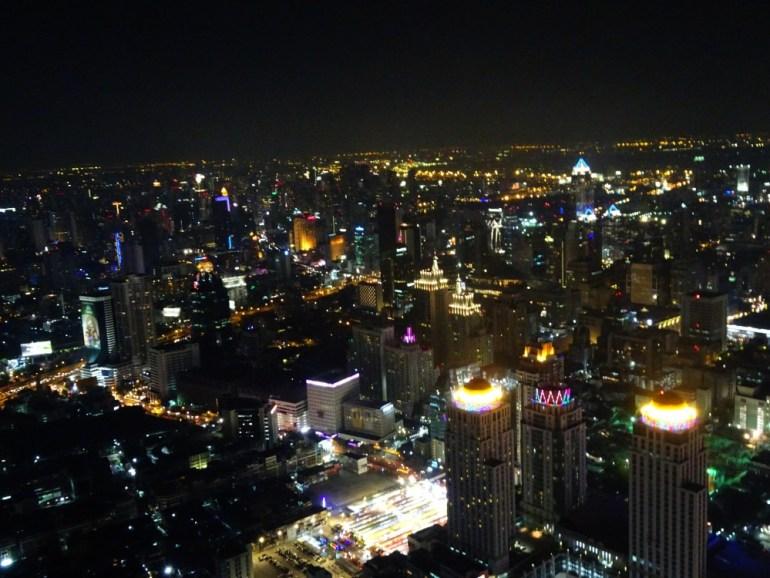 Aussicht vom Baiyoke Tower 2 Bangkok