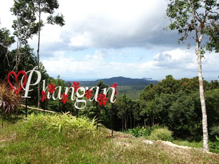 Aussicht vom Khao Ra Koh Phangan
