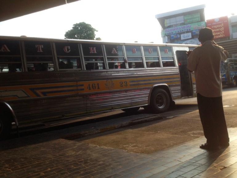 Bus am Busbahnhof Chiang Mai