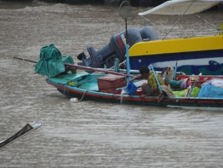 Monsun Regen bei Koh Phangan