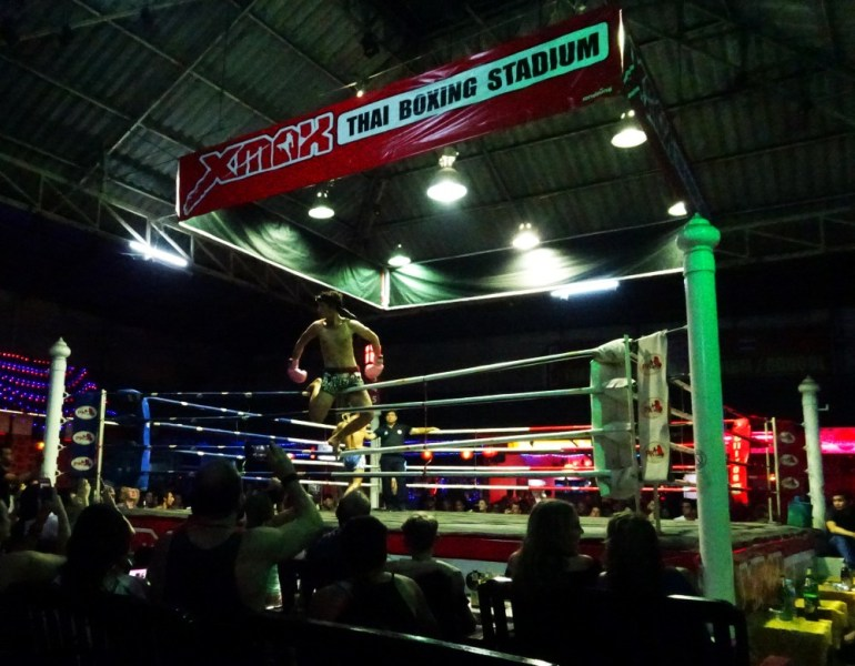 Muay Thai Kampf Chiang Mai