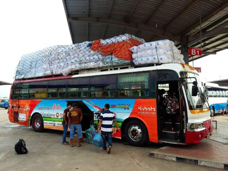 Bus nach Savannakhet