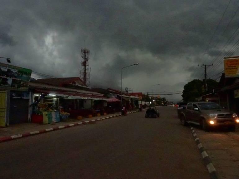 Monsun Wolken