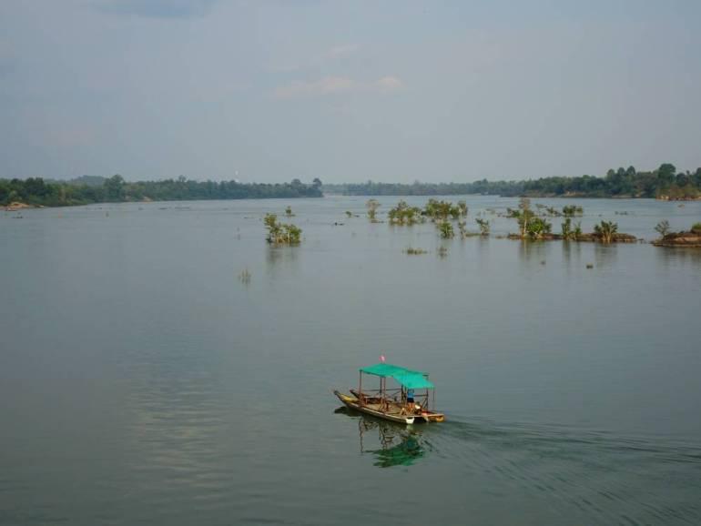 Blick auf Kambodscha von Don Khon