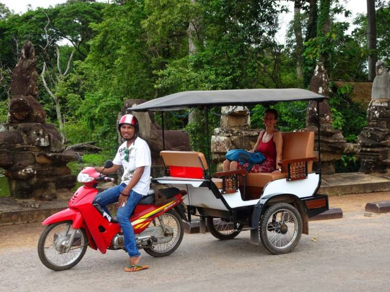 TukTuk Fahrer Angkor Wat