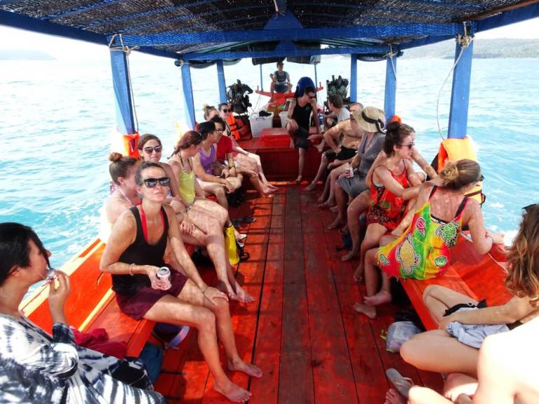 Bootstour Adventure Koh Rong