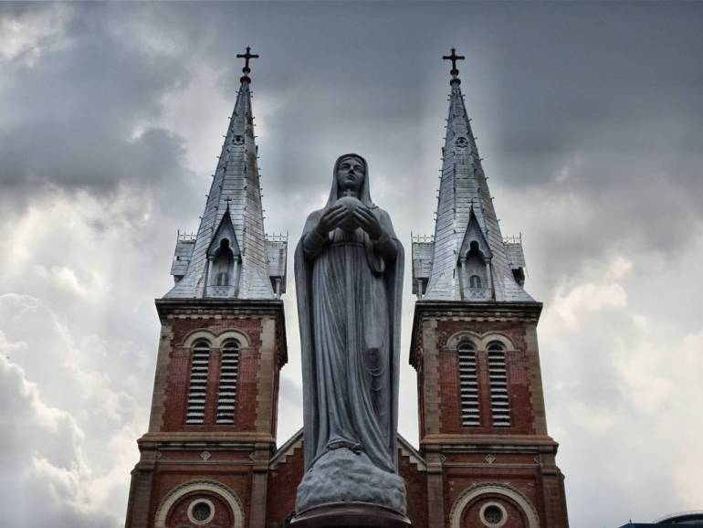 Notre Dame Kathedrale Ho Chi Minh Stadt