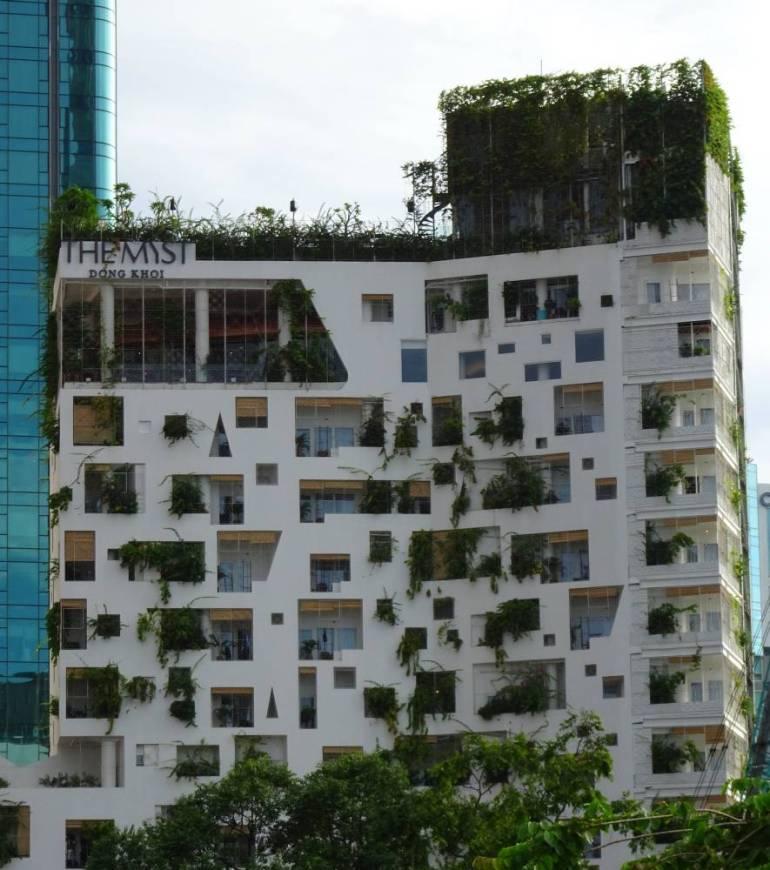 Urban Vertical Gardening Saigon