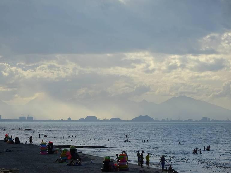 Blick auf An Bang Strand