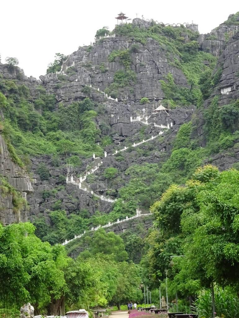 Aufstieg zum Hang Mua Berg