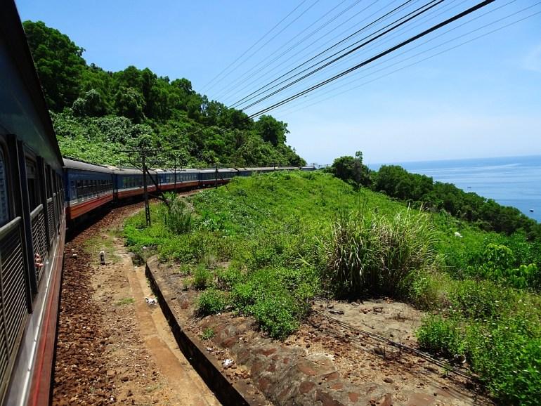 Zugfahrt Da Nang nach Dong Hoi