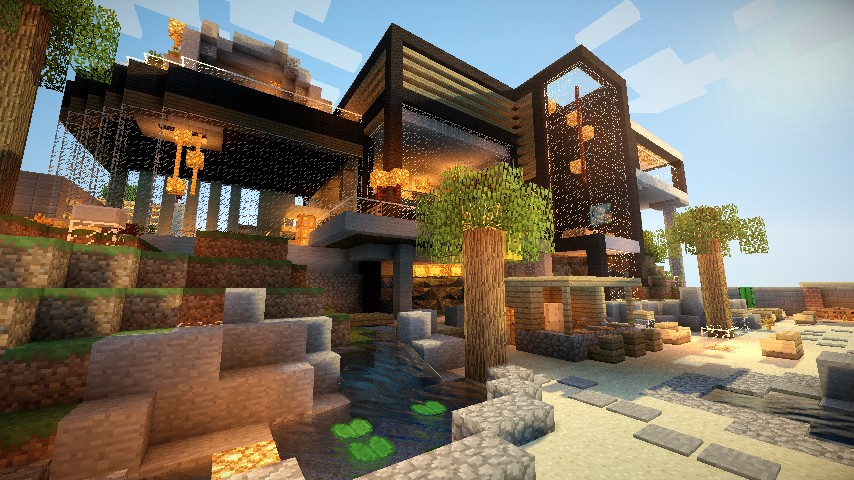 Construire Maison Simple Minecraft
