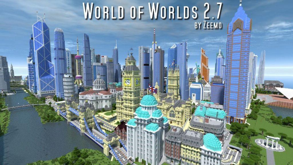 Map Ville World Of Worlds 2 7 Minecraft