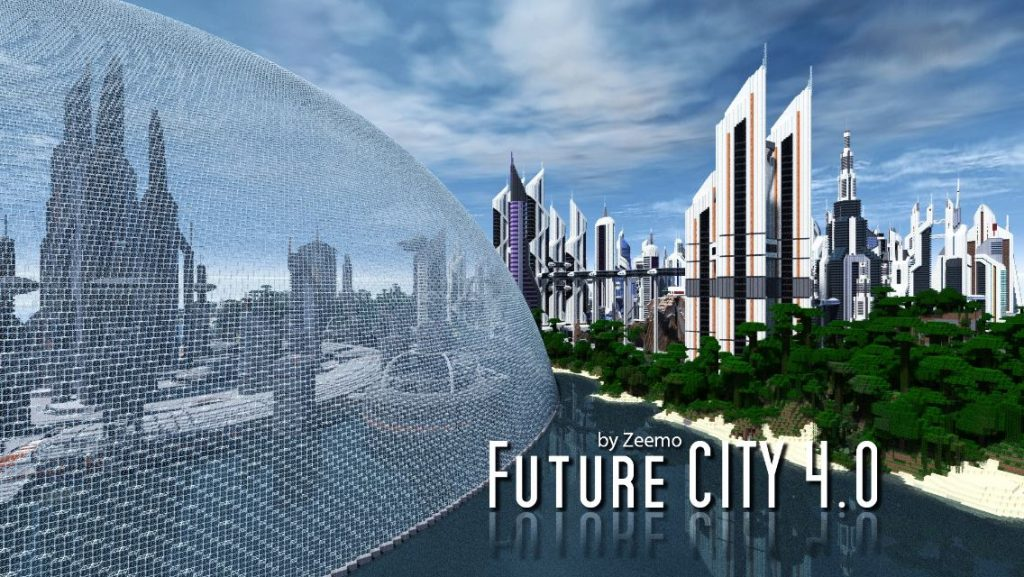 Map Ville Future City 4 0 Minecraft