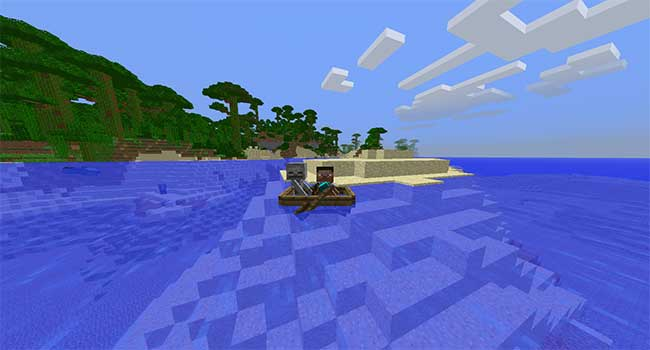 ボート二人乗り