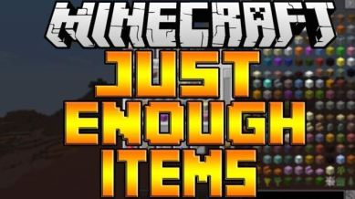 Too Many / Just enough Items Mod für Minecraft Forge