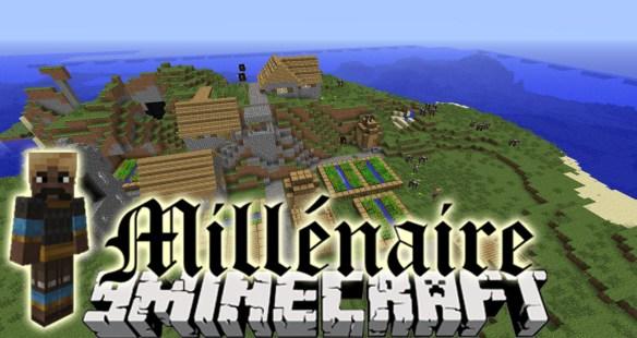Millenaire Mod - Minecraft japanische hauser bauen