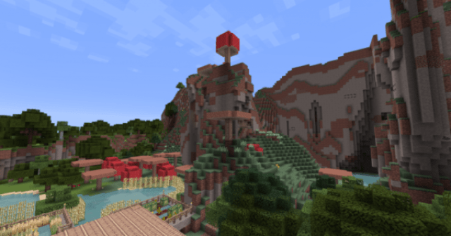 Eldpack Resource Pack: Landscape