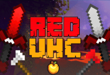 Red UHC Minecraft PvP Texture Pack
