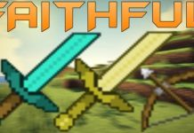 Faithful PvP Texture Pack Short Swords