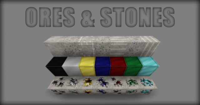 Smooth Realistic Resource Pack Ores
